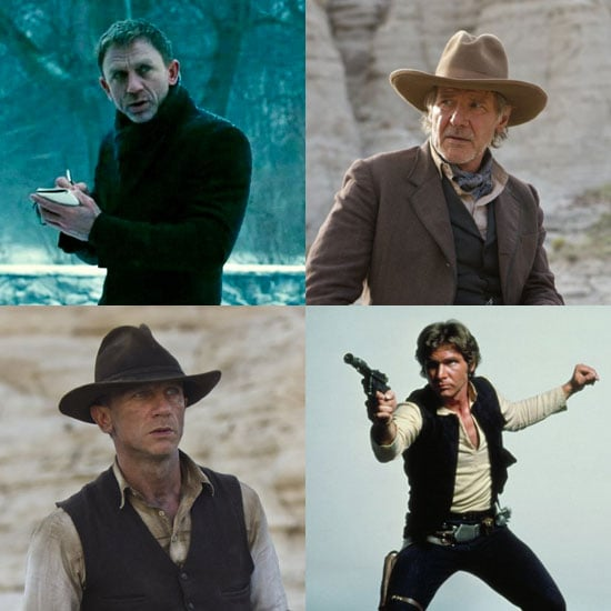 Pictures of Daniel Craig and Harrison Ford