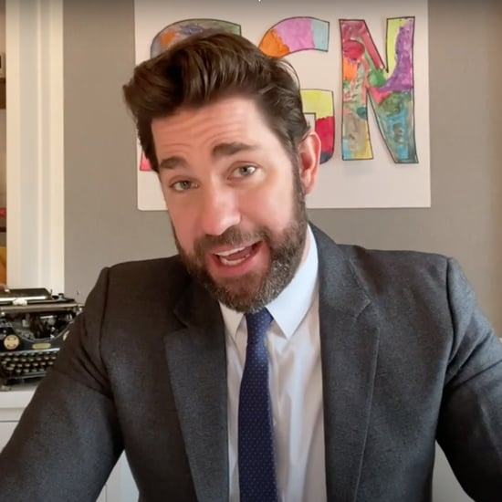 Some Good News: John Krasinski Hosts Virtual Potluck | Video