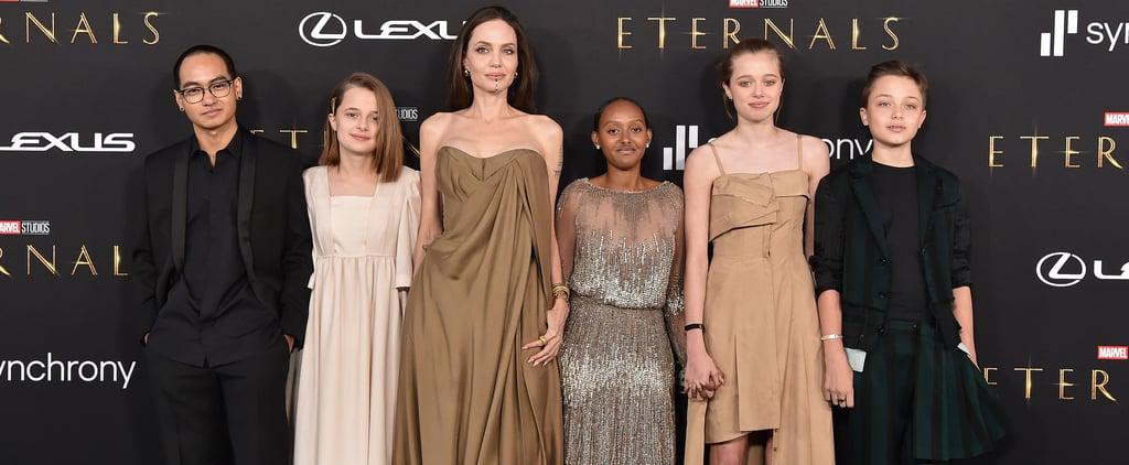 Angelina Jolie's Daughter Wears Her Mum's 2014 Oscars Dress
