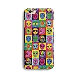 Different vibrant aliens iPhone Case ($17)