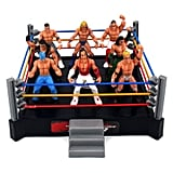 Mini Combat Action Wrestling Toy Figure Play Set