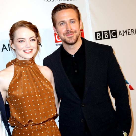 Ryan Gosling and Emma Stone at the BAFTA Tea Party 2017