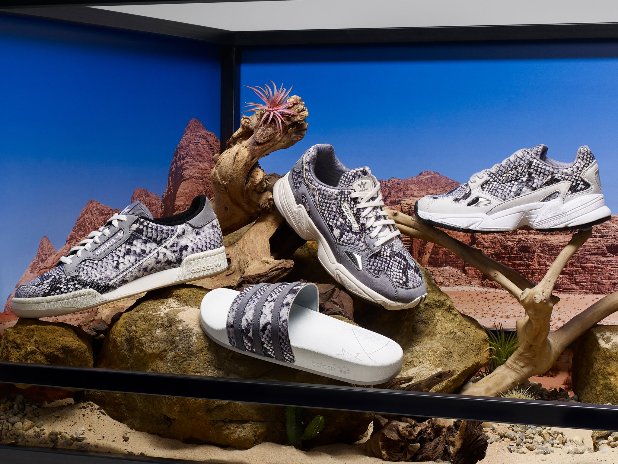 Adidas Snakeskin Sneakers Collection 2019 | POPSUGAR Fashion