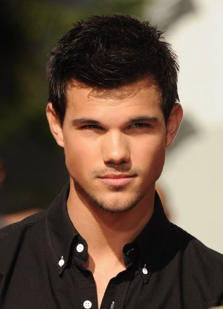 Taylor Lautner attended the Twilight hand printing ceremony at Grauman's Chinese Theater.