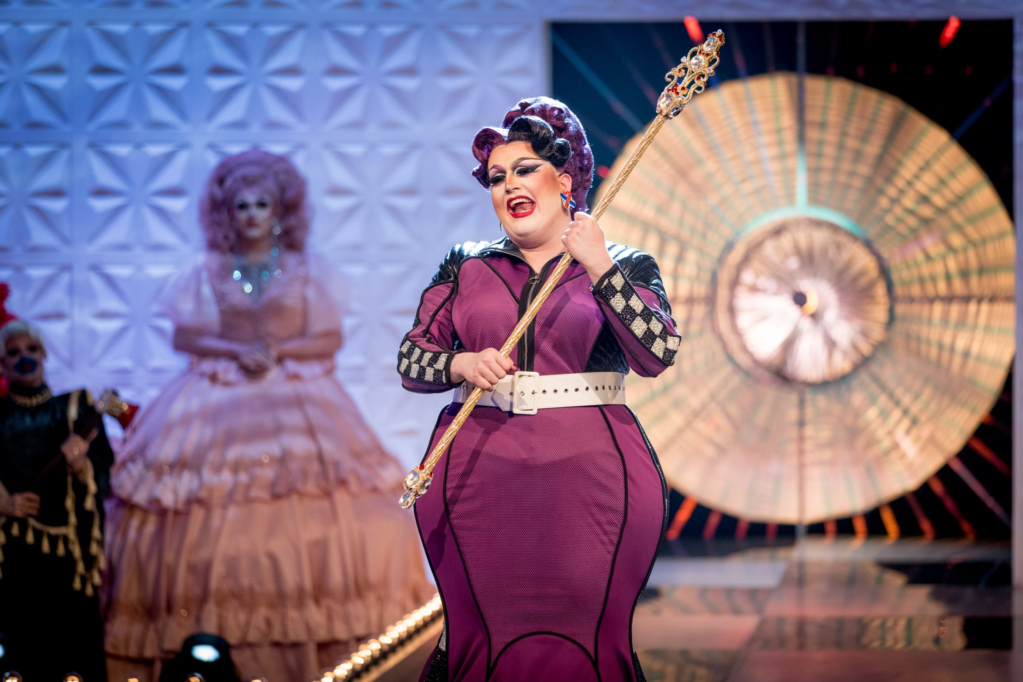 Programme Name: RuPaul's Drag Race UK series 2 - TX: n/a - Episode: RuPaul's Drag Race UK series 2 episode 10 (No. 10) - Picture Shows:  Lawrence Chaney - (C) World of Wonder - Photographer: Guy Levy