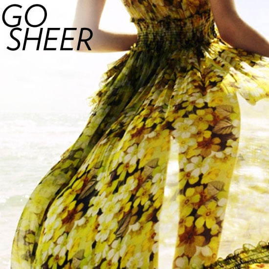 How to Wear the Sheer Trend
