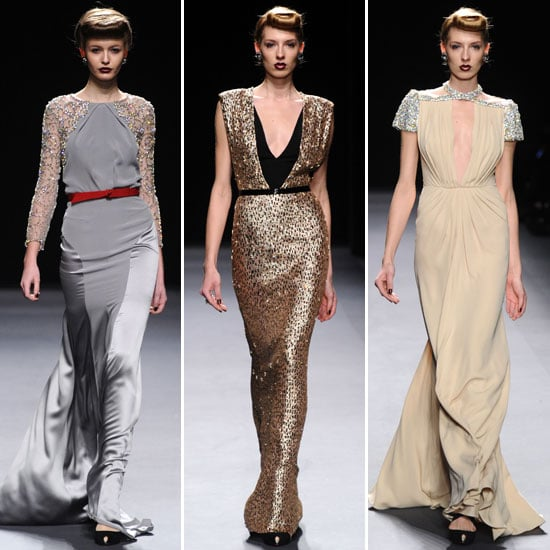 Review and Pictures of Jenny Packham 2012 Fall New York Fashion Week Runway Show