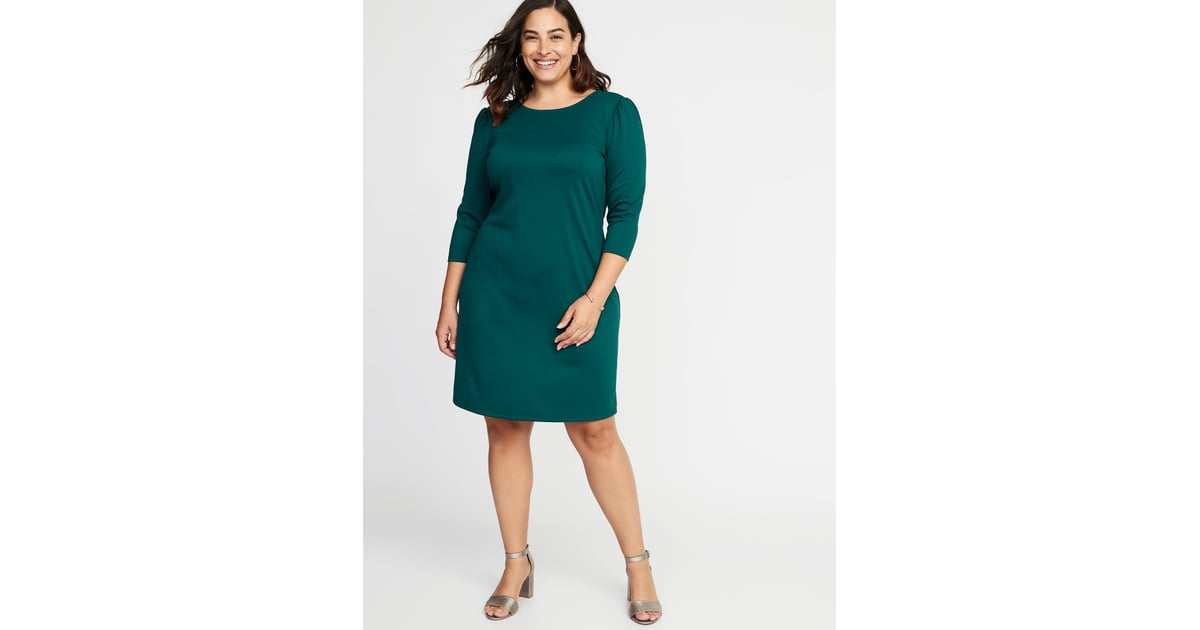 Old Navy Plus-Size Ponte Knit Shift Dress | Kate Middleton\'s ...