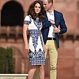 Kate Middleton's Naeem Khan Dress at the Taj Mahal 2016