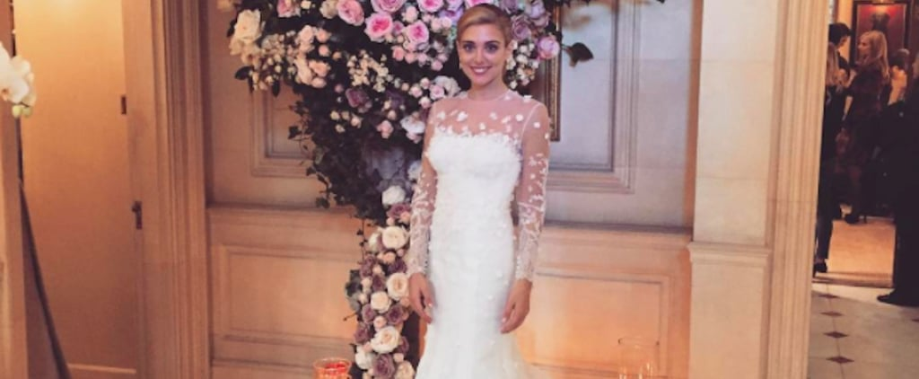 You'll Love This Greek Bride's Wedding Gown, but Her Sheer Jumpsuit Will Blow You Away