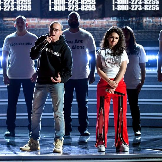Logic Alessia Cara Khalid Performance at Grammys 2018 Video