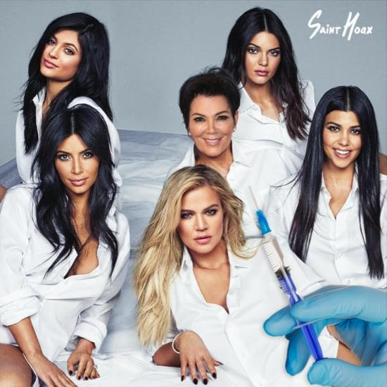 Kardashian and Jenner Changing Faces Video