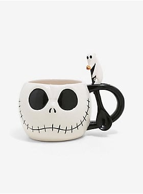 The Nightmare Before Christmas Jack Skellington Soup Mug