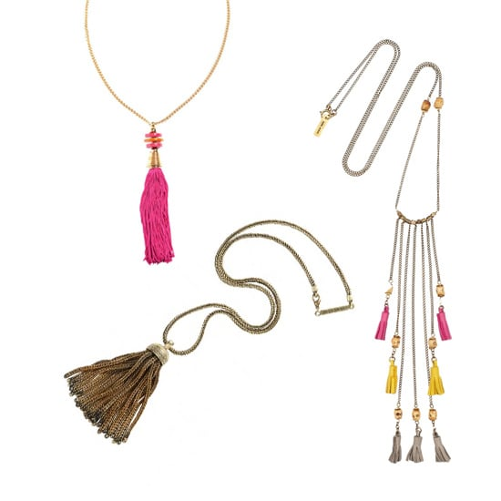 Accessory of the Week: Tassel Necklaces