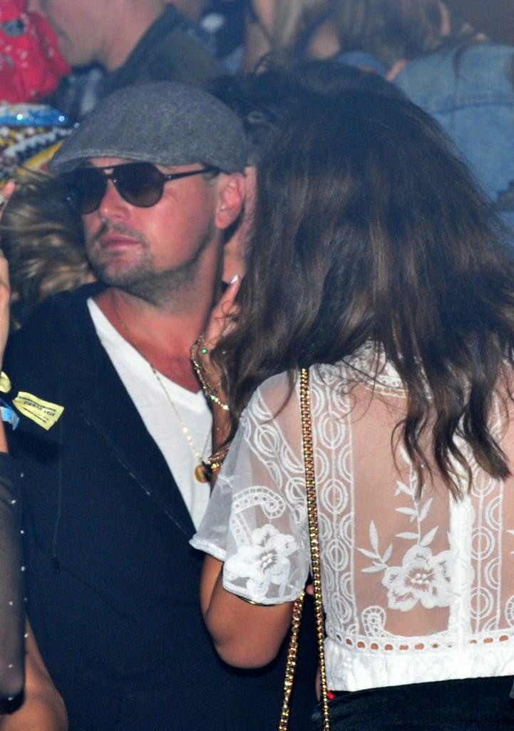 Leonardo Dicaprio Celebrities At Coachella 2017 Pictures