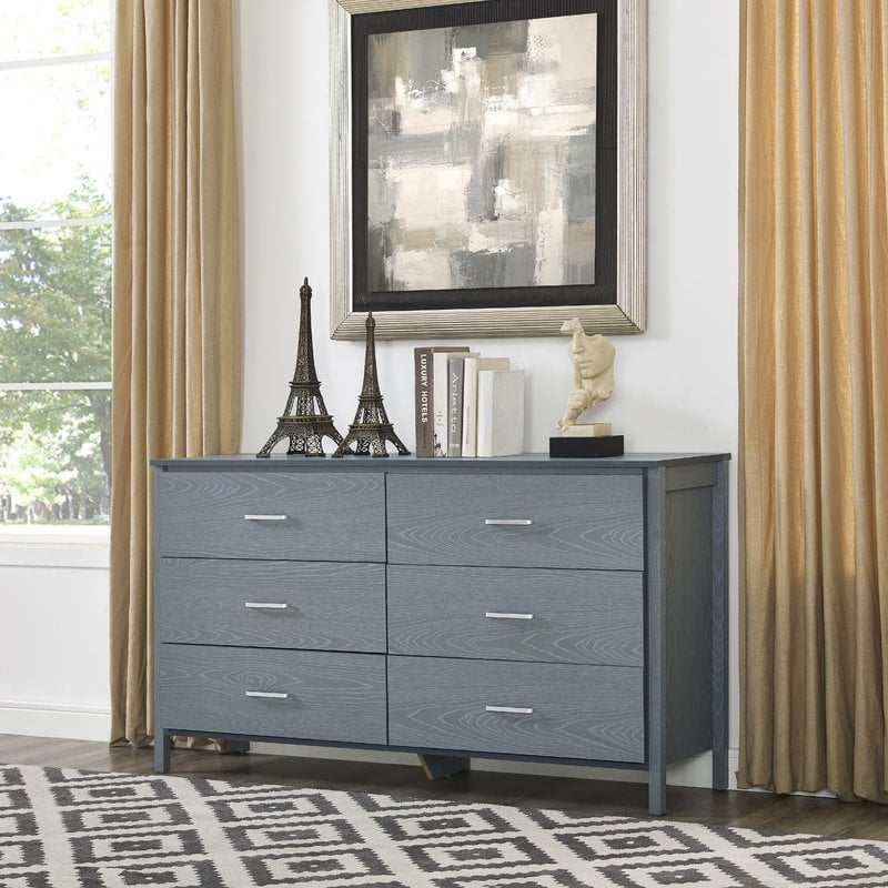 Lupe Six-Drawer Dresser