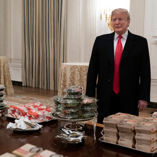Donald Trump Serves Fast Food to Clemson Tigers