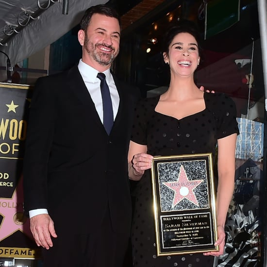 Jimmy Kimmel at Sarah Silverman's Walk of Fame Ceremony 2018
