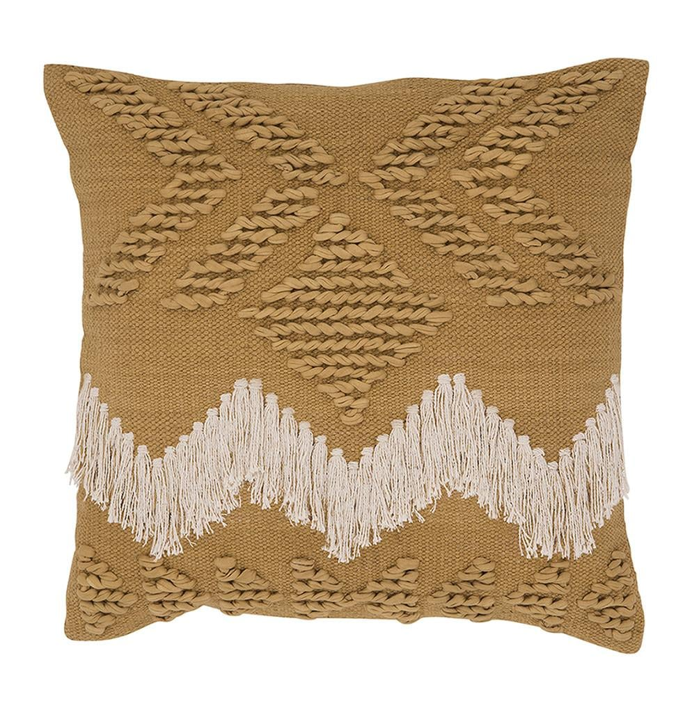 Langdon Ltd. Fringe Cushion ($99)