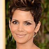 Halle Berry looked spunky and fresh Sunday night at the Golden Globes.