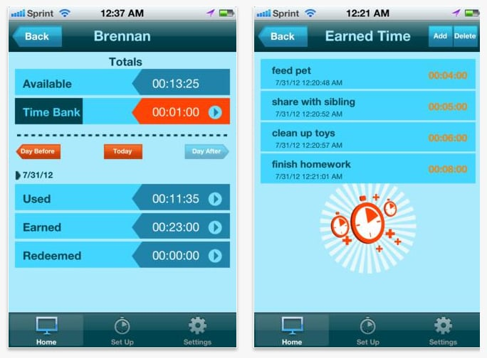Screen Time — Media Time Manager