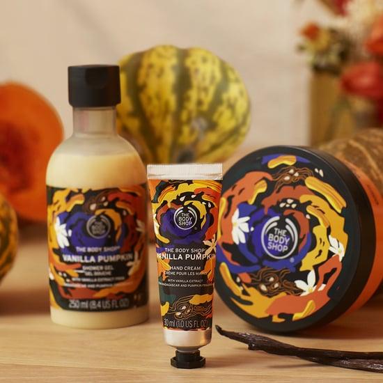 The Body Shop Autumn Vanilla Pumpkin Collection 2020