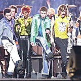 Flash Back to Justin Timberlake's First Super Bowl Performance With *NSYNC