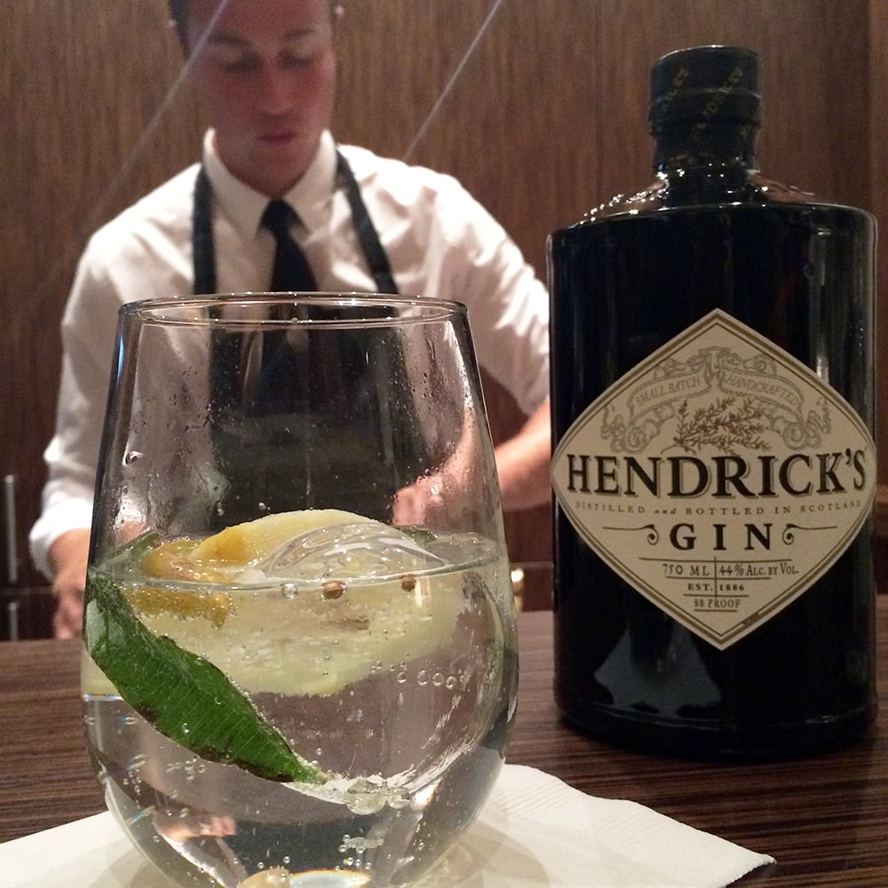Gin and Elderflower Tonic