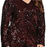 Zeagoo Curve Glitter Sequin Dress