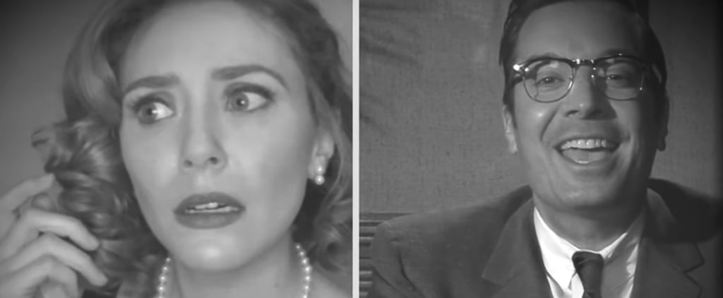 Watch Jimmy Fallon and Elizabeth Olsen's FallonVision Skit