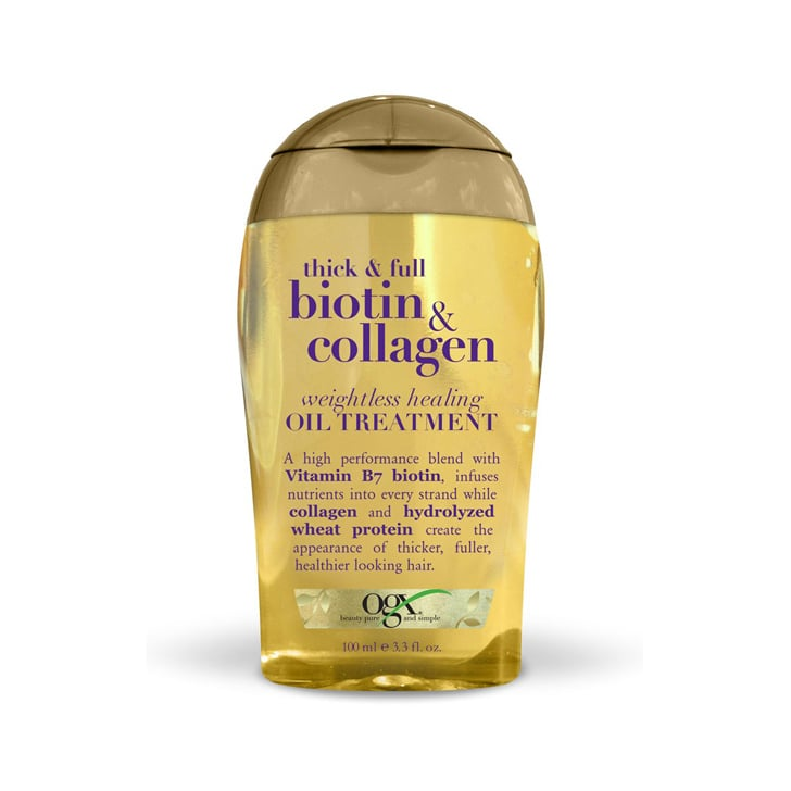 OGX Thick and Full Weightless Healing Oil Treatment, $9