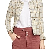 Isabel Marant Étoile Lyra Check Wool Blend Jacket