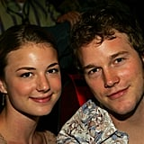 Emily VanCamp and Chris Pratt