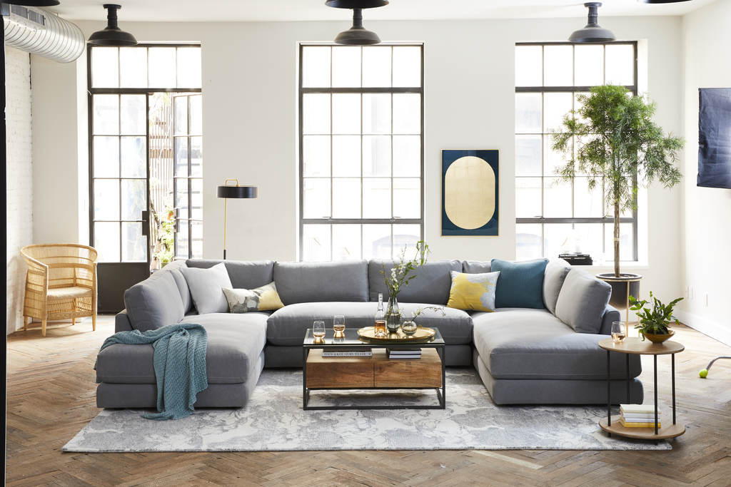 west elm haven sectional