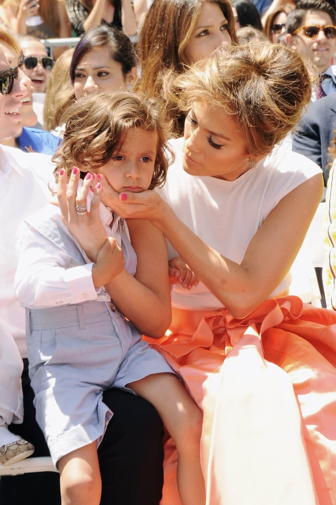 Jennifer Lopez's Son | POPSUGAR Celebrity