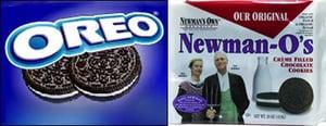 Newman-O's:  Like Oreos, but Healthier