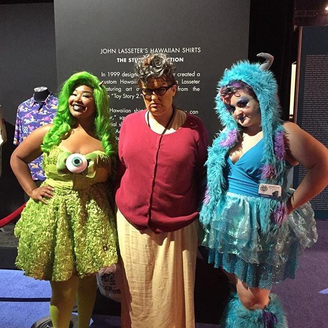 Mike, Sully, and Roz From Monsters, Inc  | These 111 Disney Costume