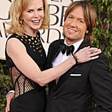 Nicole Kidman Gets Punky at the 2013 Golden Globes