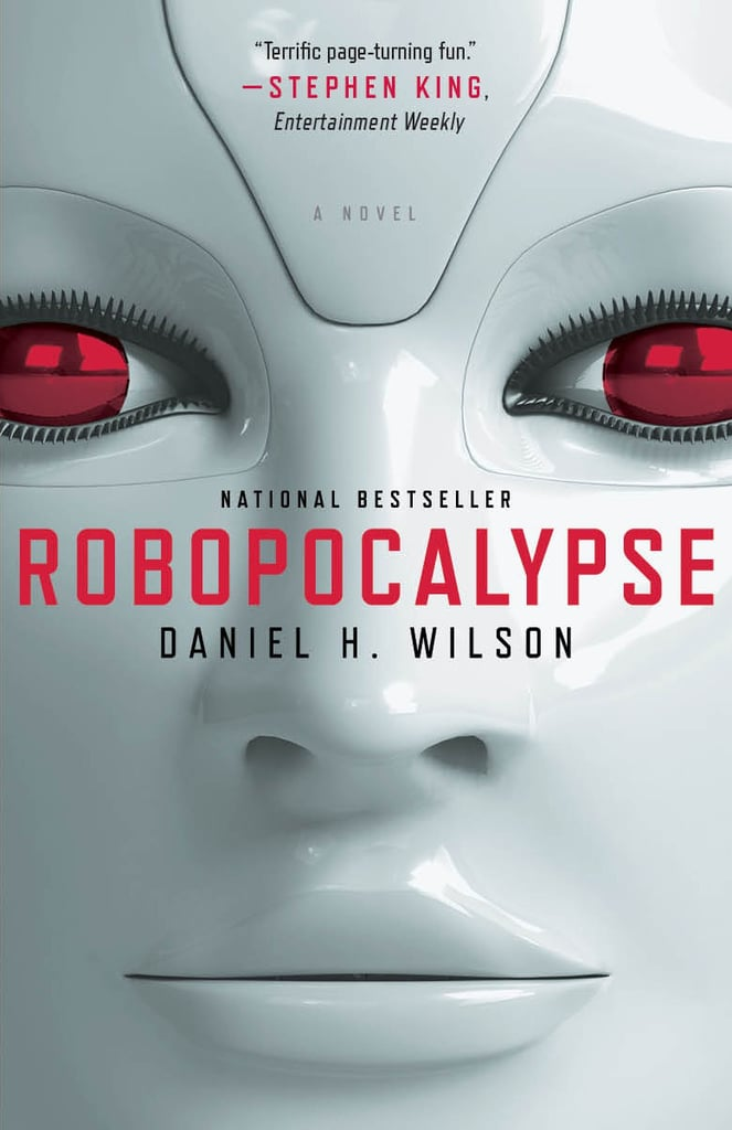A book with a robot, cyborg, or AI character