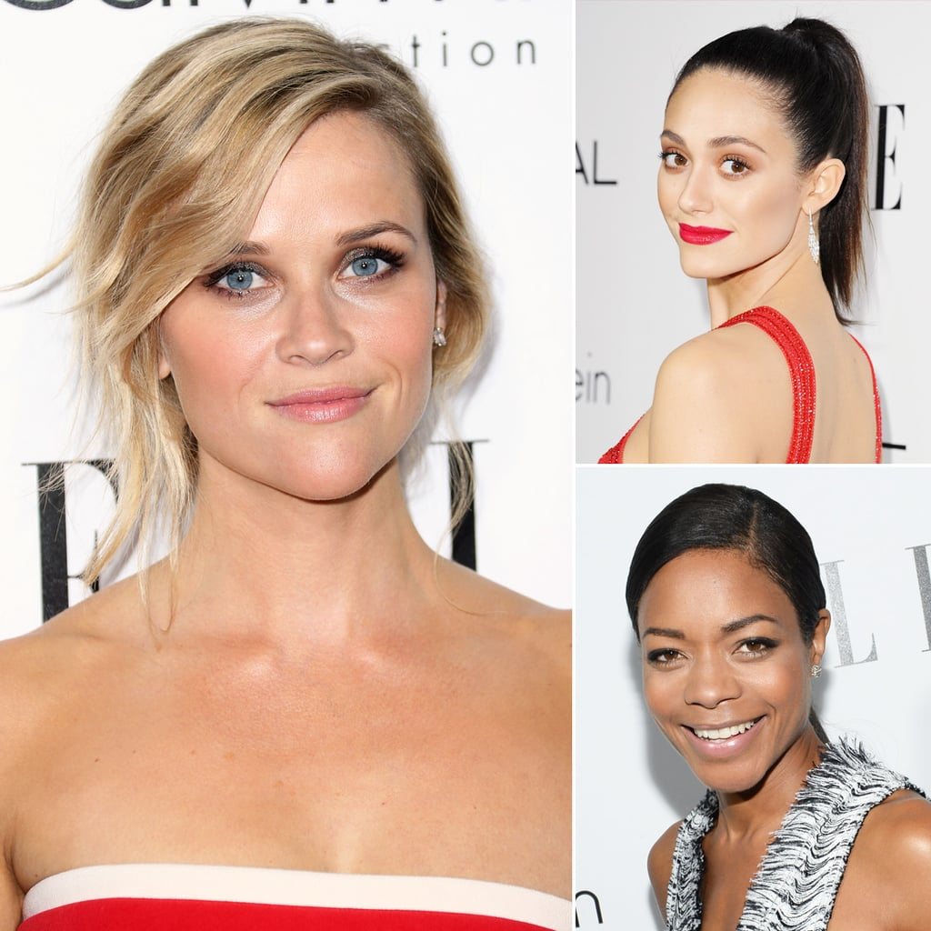 Celebrity Hair & Beauty Looks: Elle Women In Hollywood Event