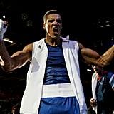 Boxer Anthony Ogogo of Great Britain celebrated victory.