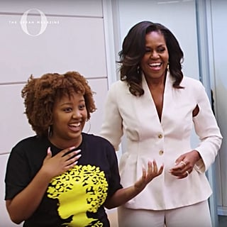 Michelle Obama and Oprah Surprise High School Students 2018