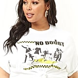 Forever 21 Plus Size No Doubt Band Tee