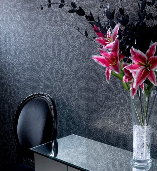 Nice and New: Modern Mandala-Inspired Wallpaper