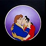 Prince Adam and Gaston