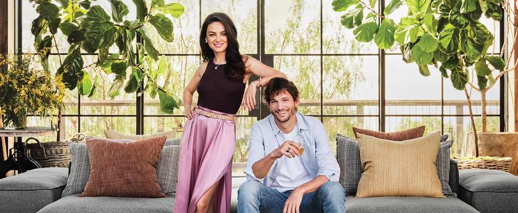 Ashton Kutcher and Mila Kunis's Home in Architectural Digest