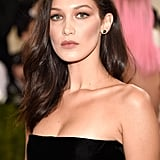 Bella Hadid's Bronzed Makeup in 2016