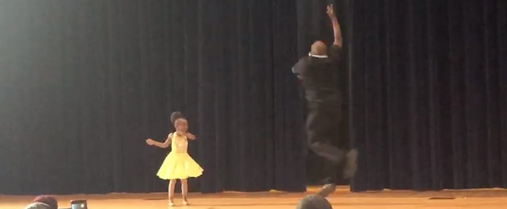 Video of Dad Performing Ballet Duet With Daughter