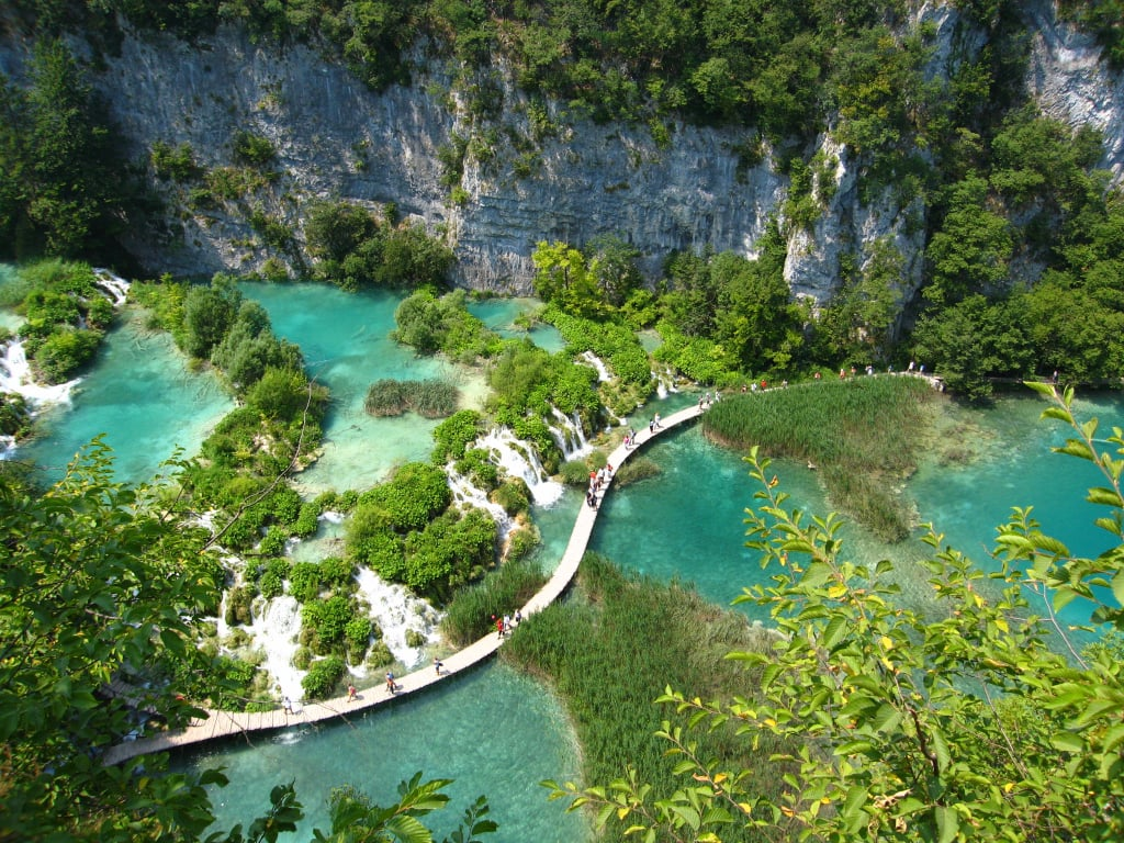 This Unreal National Park in Croatia Will Make Your Damn Jaw Drop (It's Made of 16 Lakes!)