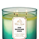 Sun-Drenched Linen 3-Wick Candle